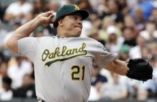 Baseball: A's pitcher Colon given 50-game ban