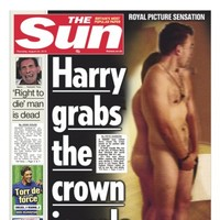 The Naked Prince: How British media got around the 'ban' on nude photos