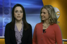 VIDEO: News anchor forgets she's on air; expresses innermost thoughts