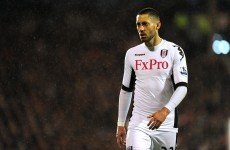 Wantaway Dempsey dropped for United trip