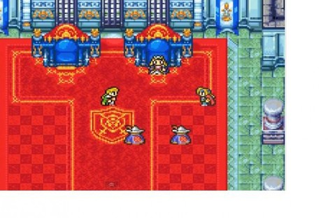 You're in a rebel hideout in the town of Altair. Sure you are. Final Fantasy II.