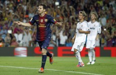 Barcelona take control in Super Cup first leg