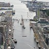 Pictures: The Tall Ships in Dublin from the sky