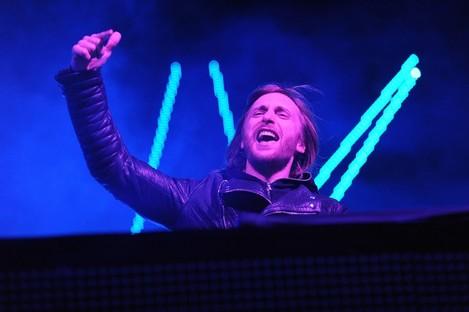 David Guetta, electric musician