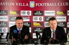 Lambert bans mobiles from Villa dressing room