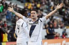 VIDEO: Robbie Keane scores, sees red as LA Galaxy win 5-2