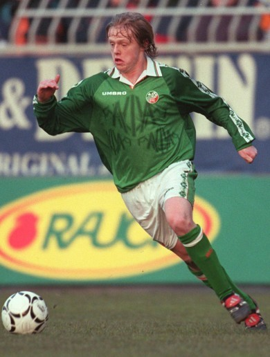 In pictures: Damien Duff's international career