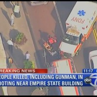 New York: nine injured and two killed in Manhattan shooting