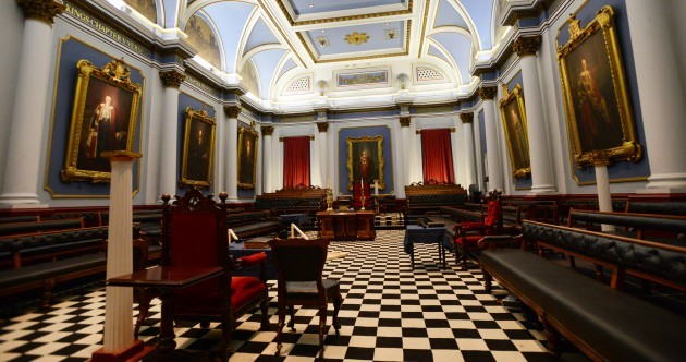 PHOTOS: Somewhere you don't often get to see: The Freemasons' Hall in Dublin