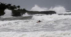 Tropical storm Isaac makes landfall in Haiti