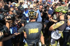Armstrong tells supporters: Don't cry for me