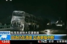 36 killed after sleeper bus and tanker collide