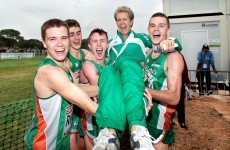 Historic win for Irish U-23s in Portugal