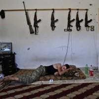 Syria: Dozens of bodies filmed as opposing sides blame each other for massacre