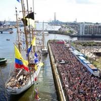 Tall Ships Festival in Dublin welcomed 1.15 million visitors