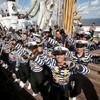 In photos: Tall Ship 'Cuauhtemoc' leaves Dublin Harbour