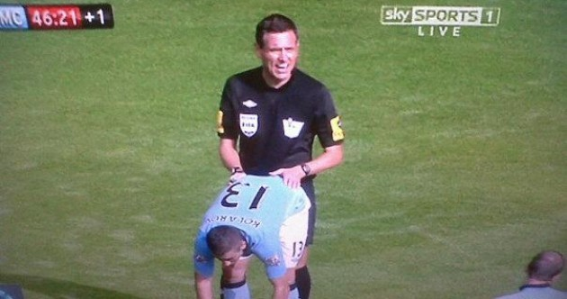 Here's your unfortunate Premier League image of the day