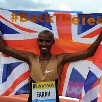 Farah savours fans' reaction on track return