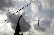Javelin spears official's throat at German meet