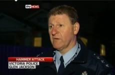 Man charged over hammer attack on Irish men in Australia