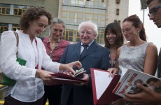 ¿Lo entiendes? Michael D enrols in Spanish language course