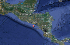 Brief tsunami warning issued after 7.3-mag quake off El Salvador