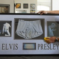 Undies worn by Elvis Presley to be sold at auction