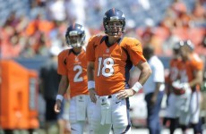 NFL: Peyton Manning is back but Broncos lose