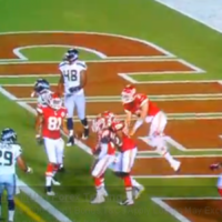 VIDEO: The only Matt Cassel highlight you're likely to see this year