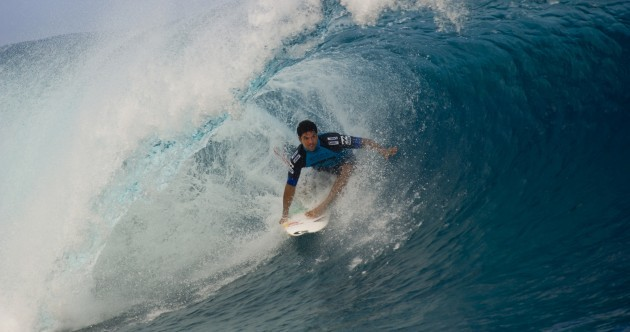 Surf's up! Here's 6 of the world's best surfers in action at the Billabong Pro Tahiti