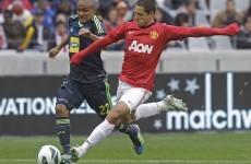 Hernandez happy to learn from Van Persie