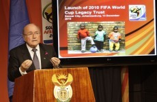 "FIFA president's ""joke"" to gay fans: avoid sex in Qatar"