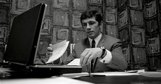 Here's your archived 'Johnny Giles as an insurance broker' pic of the day