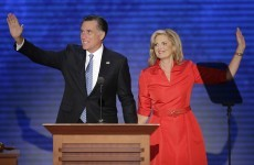 Romney officially named as Republicans' candidate to take on Obama