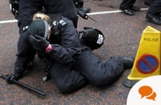 Column: Surely Loyalist marchers want a better image than this?