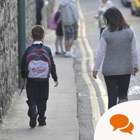 Column: 'I will miss you' – a mum writes to her son starting school