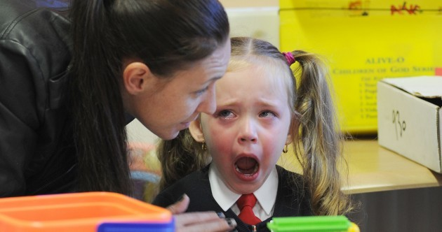 All grown up! Ireland's infants head to school for the first time