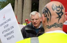 In photos: Greencore workers travel from Hull with petition for Irish govt
