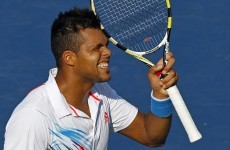 US Open round-up: Fifth seed Tsonga out, Serbs cruise