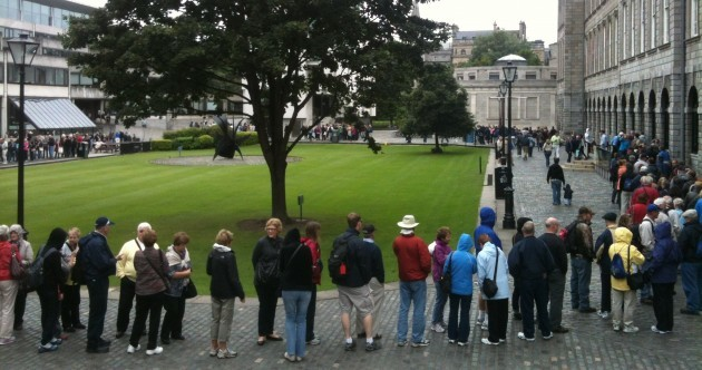Pictures: Book of Kells has a bumper morning