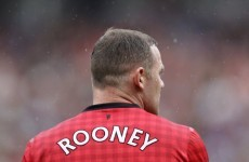 Fergie: Rooney will be back in four weeks