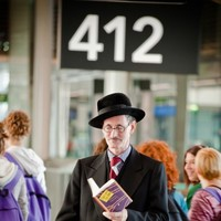 Pics: Why was 'James Joyce' at Dublin Airport?