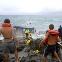 50 feared dead after asylum ship sinks off Christmas Island