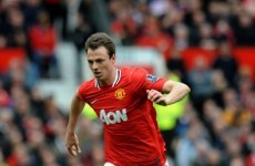 Fergie expresses relief at the return of Jonny Evans
