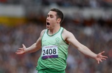 VIDEO: Jason Smyth takes 100m title in record time