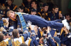 VIDEO: Notre Dame's marching band plays 'Call Me Maybe' in Dublin