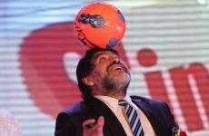 Recall: Maradona appointed sports ambassador in Dubai
