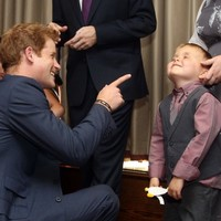 "Kid to Prince Harry: ""I'm glad you've got your clothes on"""