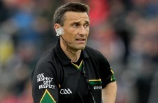 Deegan to take charge of All-Ireland football showdown