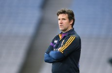 Wave goodbye: Jason Ryan resigns as Wexford manager